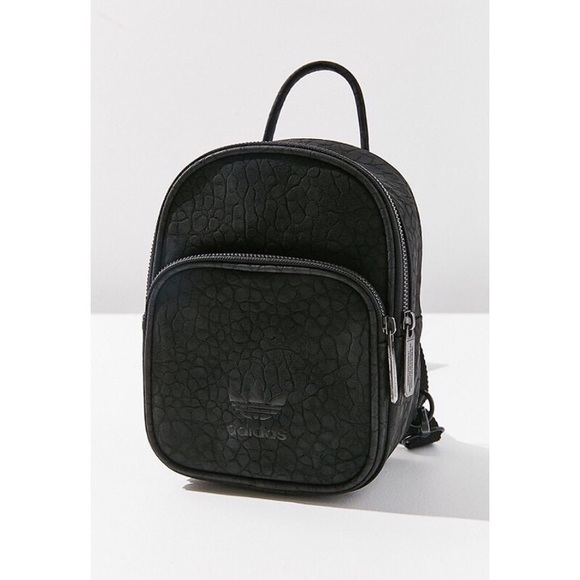 a28571b28d  RARE  Adidas Originals Faux Leather Mini Backpack